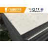 Flat Prefab House Hotel Sandwich Panel Construction Materials Grey Manufactures