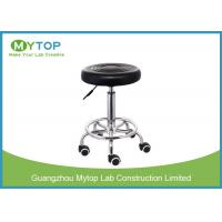 Modern Multi Function ESD Lab Chairs , Armless Laboratory Stool Chair Manufactures
