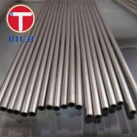 China Ferritic / Austenitic Stainless Steel Seamless Tube Astm A213 For Boiler on sale