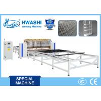 Automatic Wire Fence / Wire Mesh Shelving Spot Welding Machine for 3mx3m Mesh Manufactures