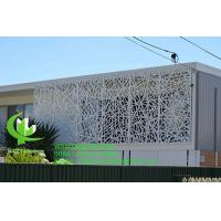Carving Aluminum Sheet Fence Various Design Laser Cutting   Balcony Facade Window Supply Manufactures