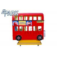 Lovely Cartoon Amusement Park Bus Kiddy Ride Machine , Easy To Handle Manufactures