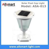 Quality Aluminum Black or White Westinghouse Solar Lamp Post Caps Solar LED Garden Pillar Lights Solar Landscape Lights for sale