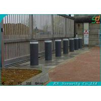 Pedestrian Barriers Hydraulic Bollards Stainless Steel Retractable Parking Posts Manufactures