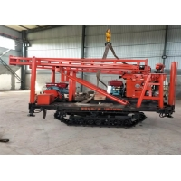 Hgih Performance Crawler Mounted Drill Rig For Water Well Drilling Manufactures