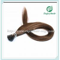 "Pre-Bonded Hair 10""-28"" 100s/pack 30# color Straight Human Hair hair extension malaysian Manufactures"