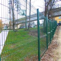2m Height weld wire mesh fence fabrication works steel  welded fence Manufactures