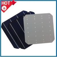 Hottest 6inch mono solar cell 3BB / 4BB, high efficiency mono-crystalline silicon solar cells cheap price Manufactures