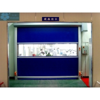 750W 1.0m/S PVC Roller Shutter Doors For Warehouse Manufactures