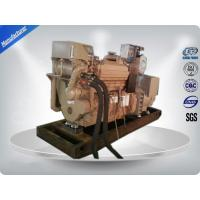 CCS Three Phase Marine Diesel Genset Turbocharged With DCEC Cummins Engine Manufactures