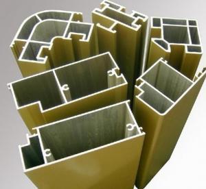 commercial Aluminum Door Extrusions profile for Casement Windows Manufactures