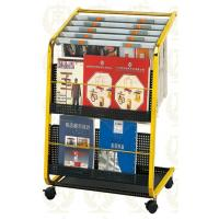 Stainless Steel Information Newspaper Rack With Copper Plated , 650x400x900mm Manufactures