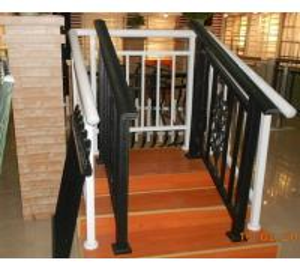 Quality Extrusion Aluminum Hand Railings / aluminum deck railing For decorative for sale
