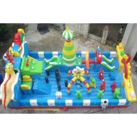 PVC tarpaulin Outdoor  Inflatable Sports Games  Children's Playground Manufactures