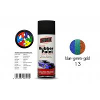 Insulate Rubber Coat Spray Paint Chameleon Blue - Green - Gold Color For Car Body Manufactures