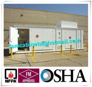 Chemical Storage Buildings , Hazardous Material Storage Building For Corrosive Liquid Manufactures