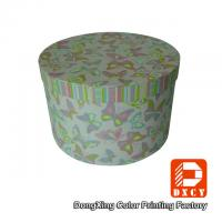 Beautiful Round Small Coloured Cardboard Boxes With Lids Environmentally Friendly Manufactures