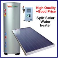 Safety Split Solar Water Heater , Roof Mounted Solar Water Heater 3 Years Warranty Manufactures