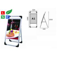 Quality Waterproof LED Advertising Display Stands , Silk Screen Dots Printed LGP LED for sale