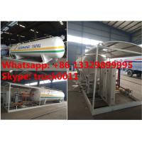 15tons skid lpg gas station with double weighting scales for sale, factory sale best price 15tons mobile skid lpg plant Manufactures