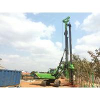 KR125A Rotary Drilling Rig , Interlocking Kelly Bar Construction Pile Driving Equipment Manufactures