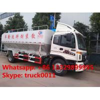 Quality 2017s total new FOTON Aumark 12m3 electronic discharging feed truck for sale, livestock farm-oriented animal feed truck for sale