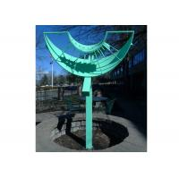 Colorful Painted Metal Sculpture Large Abstract Metal Sculpture Customized Size Manufactures