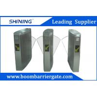 260mm Grass Arm Flap Metal Barrier Gates , Security Gates For Hotel Entrance Manufactures