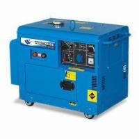 China Air Cooled Silent Type Diesel Generator, with 3 to 5kW Power and 50/60Hz Frequency Capacity on sale