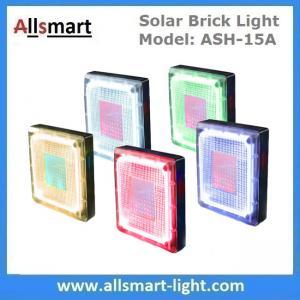 "8""x 8"" inch Square Solar Paver Lights Patio Solar Brick Lights Garden Landscaping Solar Underground Inground Lights Manufactures"