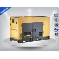 80Kw / 100Kva Three Phase Power Generating Sets Silent Canopy For School Manufactures