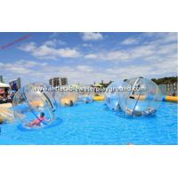 Quality Big Inflatable Water Walking Ball Life Sized Hamster Ball Pool Toy For Water for sale