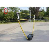 3 In 1 Badminton Easy Set with Freestanding Base Portable Removable Lightweight Manufactures
