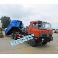 Q23B high strength hook arms Dongfeng 6x4 18~25 ton cheap price of hooklift garbage truck for sale Manufactures