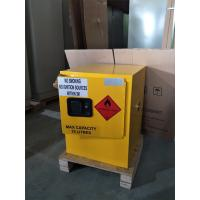4 Gallon / 15 L Chemical Safety Storage Cabinets Manual Closing For Laboratory Manufactures