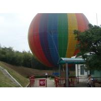 Quality Large Sweet Air Colorful Inflatable Hot Air Balloon PVC Fireproof For School for sale