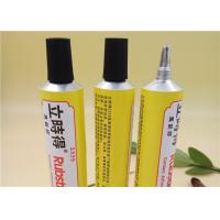 Six Color Soft Aluminum Adhesive Tubes Packaging With Extended Plastic Nozzle Manufactures