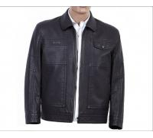 Custom Stylish Luxury Size 46, Knitting Comfortable Men, Mens Lightweight Leather Jackets Manufactures