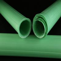 Waterproof Plastic Plant Protectors , Green Spiral Rabbit Guards Manufactures