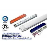 Indoor 3 Foot T8 LED Tube Light For Home AC 100 - 277V Input Voltage Manufactures