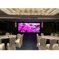 Buy cheap SMD P2.5 Indoor Advertising LED Display Hotel / TV Station / Meeting Room from wholesalers