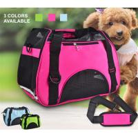 Small Dogs Soft / Foldable Portable Pet Carrier Bag With Mesh Breathable Side Manufactures