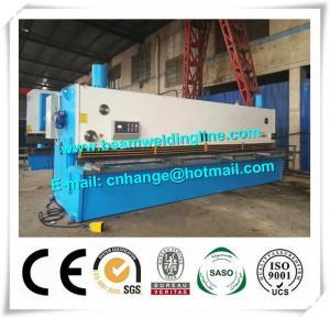 Guillotine Type NC Metal Shearing Machine QC11Y , Hydraulic Shearing Machine Manufactures