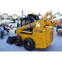 China ISO CCC Compact Wheel Loader XT750 Skid Steer Loader, Bucket 0.55m3 , Load Weight 870kg on sale