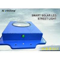 Time Control 6W Smart Solar Street Light 600-700LM With Infrared Motion Sensor Manufactures