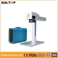 Quality Small fiber laser marking system for Jewelry inside and outside marking for sale