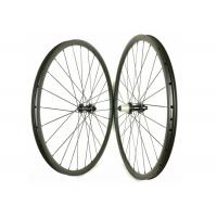 30MM*30MM XC 29ER Carbon MTB Wheels Clincher T700 / T800 Straight Pull Manufactures