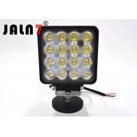 Square 4 Inch Automotive Led Lights / 12V Led Automotive Lights For Trucks Manufactures