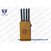 Portable GPS High Power Cell Phone Jammer CDMA GSM DCS PCS 3G L110 x W62 x H30 mm Manufactures