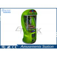 Kids Toy Crane Game Machine , Coin Pusher Vending Machine For Shopping Mall Manufactures